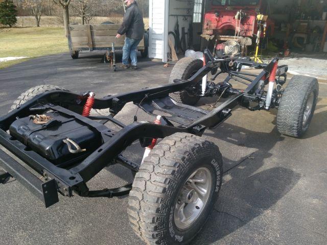 U0026 39 89 Jeep Wrangler Yj Body-off Rebuid  V8 Conversion