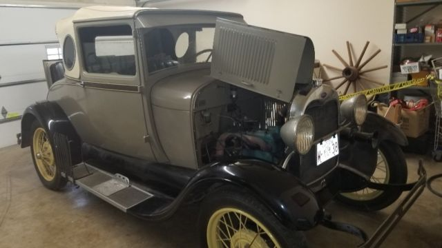 1929 Ford Model A Business Oval Window Coupe Rumble Seat