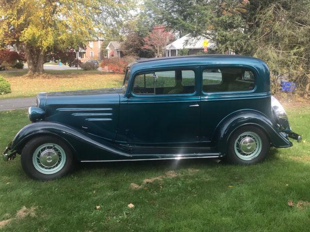 1934 CHEVROLET 2 DOOR MASTER SEDAN ALL STEEL STREET ROD 400
