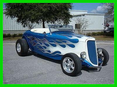 1934 Ford Custom Roadster 350 Corvette V8 Engine Automatic w