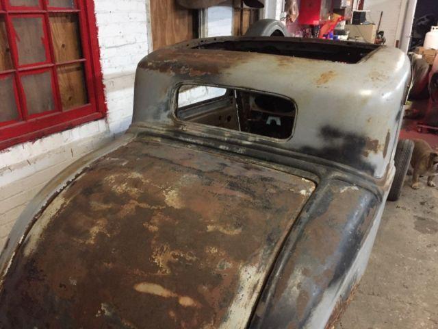 1934 Plymouth Hemi 5 Window Coupe Rat Rod Project - Classic