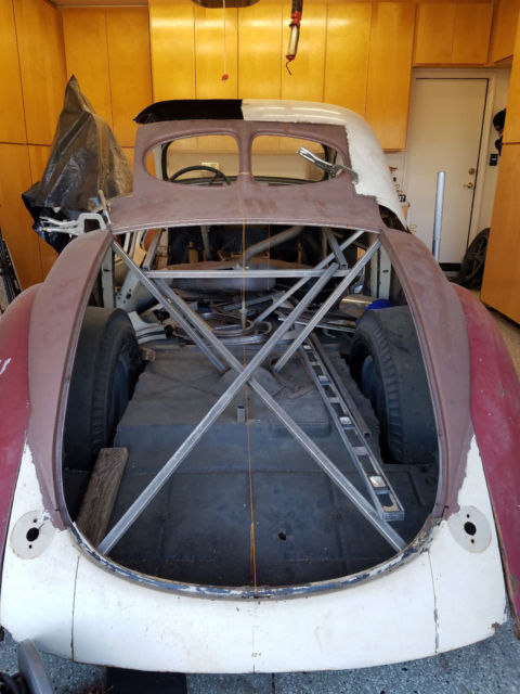 Willys Jeep For Sale >> 1937 Willys Sedan Coupe Conversion - Classic 1937 Willys Custom for sale