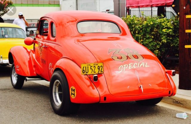 1938 Chevy Coupe Gasser Classic 1938 Chevrolet Other For