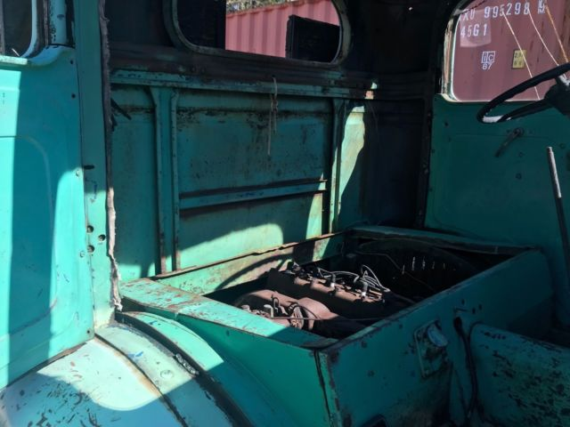 1938 international ds-300 cab over engine ultra low