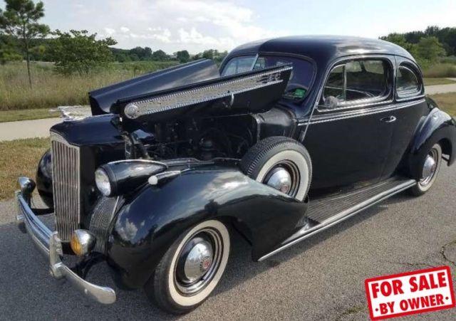 1940 Packard 120 Business Coupe Original Classic Rare Manual