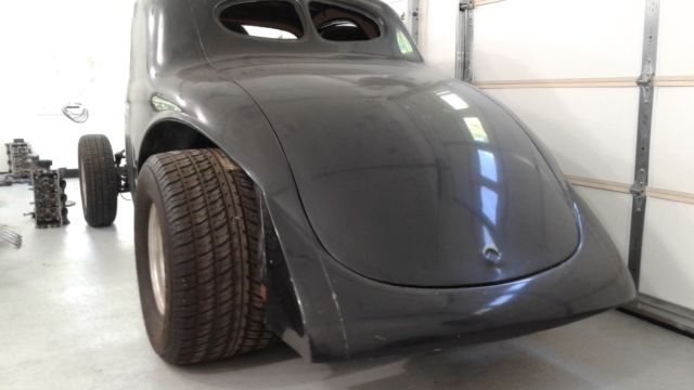 1940 Willys Coupe -Heritage Fiberglass body with rolling chassis
