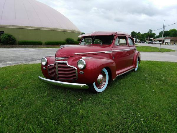 1941 Chevy Master Deluxe 2 door Awesome Driver ALL METAL survivor