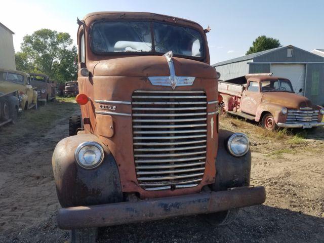 1941 Dodge Coe Cabover Truck original patina paint nice