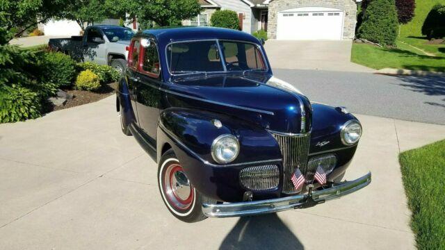 1941 Ford Super Deluxe Sedan - Classic 1941 Ford Super