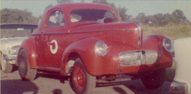 1941 Willys coupe Gasser Drag car Barn find Survivor