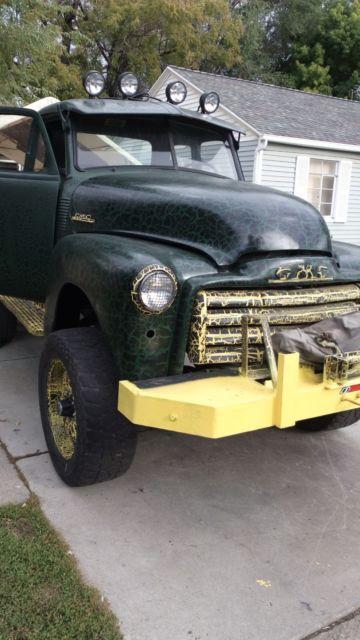 1948 1949 1950 1951 1952 gmc truck hot rod 4x4 classic chevy napco custom style classic 1948. Black Bedroom Furniture Sets. Home Design Ideas
