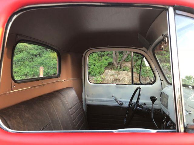 1949 1950 1951 1952 Ford F1 Truck V8 / Modern Chevrolet ...