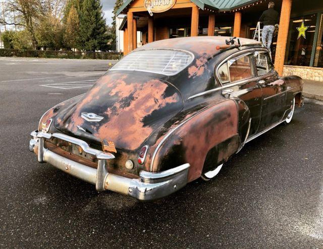 1949 Chevy Fleetline Deluxe Lowrider Hot Rod Rat Rod ...