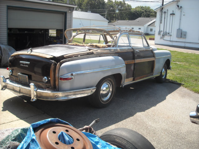 1949 Chrysler New Yorker Town Amp Country Convertible Woody