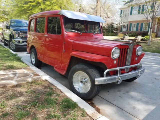 1949 Willys Wagon HOT ROD CHEVY 350 Let Santa bring you more