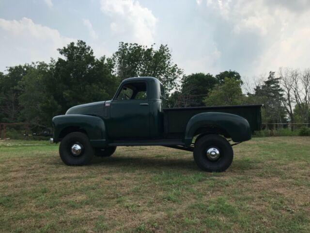 1950 Chevrolet 3100 Napco 4x4 restomod build - Classic 1950
