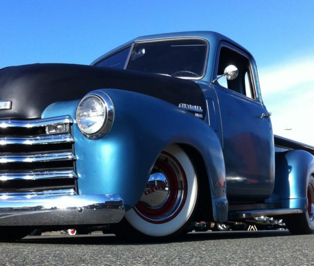 1950 Chevrolet, Chevy, Truck, 3100, Hot Rod, Resto-mod
