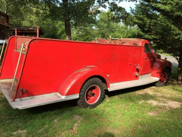 1950 Ford F7 Flathead Fire Truck Pumper - Classic 1950 Ford F7 for sale