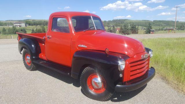1950 GMC 3100 Chevrolet Advance Design Half Ton Pickup Truck