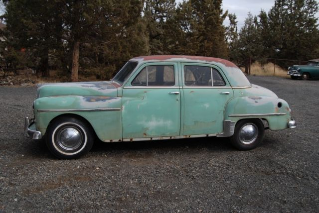 1950 Plymouth Special Deluxe Sedan Solid Original   Restore