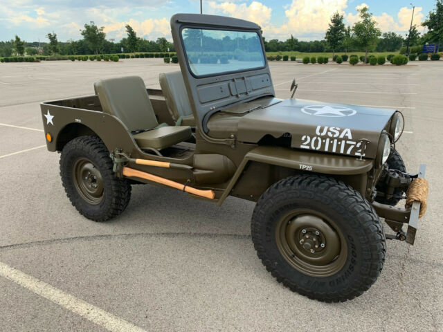 1950 Willys M38 Jeep - Clic 1950 Willys Model 38 Truck for sale on m38 jeep body, m38 l head oil line schematic, m38 rear axle breakdown, m38 fuel tank, m38 wiring light switch,