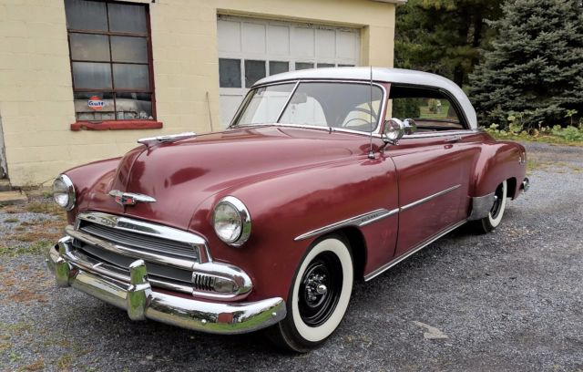 1951 Chevy 2 Door Belair Hardtop Classic 1951 Chevrolet
