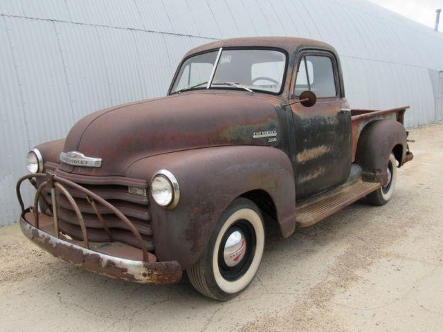 1951 CHEVY 3100 1 2 TON PICKUP SOLID TEXAS DRIVER REAL PATINA