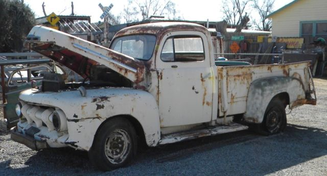 1951 FORD 3/4 TON F100 LONG BED DUMP (WORKS) TRUCK RESTORE