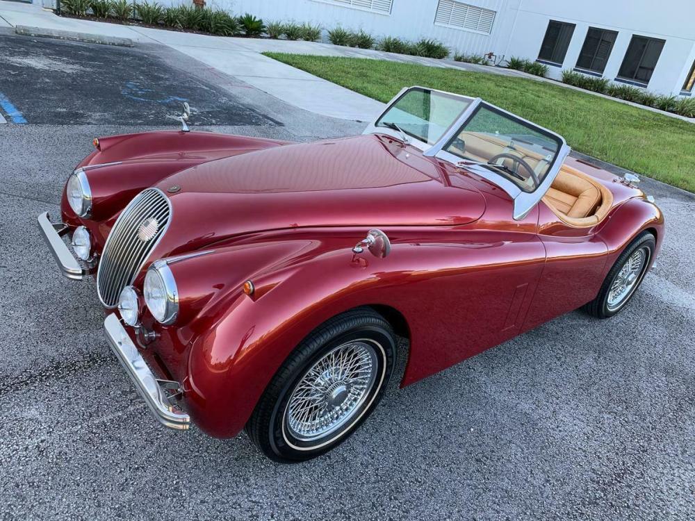 1951 Jaguar roadster xk120 restomod - Classic 1951 Jaguar ...