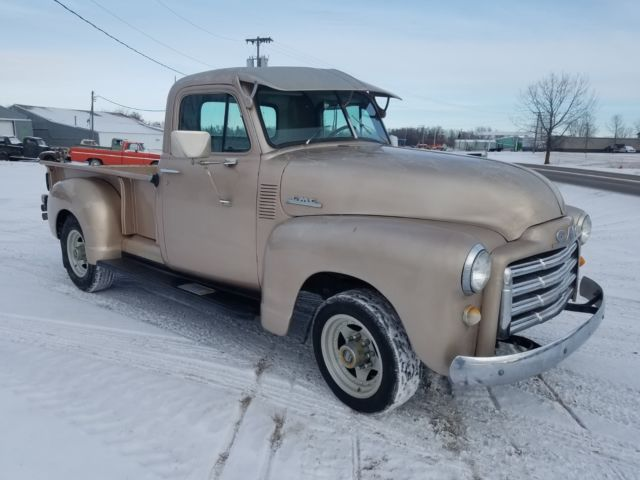1952 GMC Pickup truck Very solid AC 292 inline 6 chevy