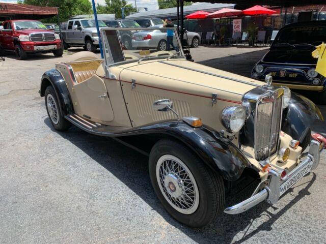 1952 Mg T Replica Kit Car Very Clean Florida Car Vw Motor Classy Fun
