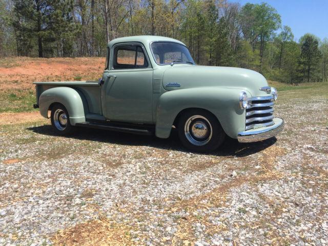 1953 Chevrolet 3100 5 Window Pickup 1955 1st Series
