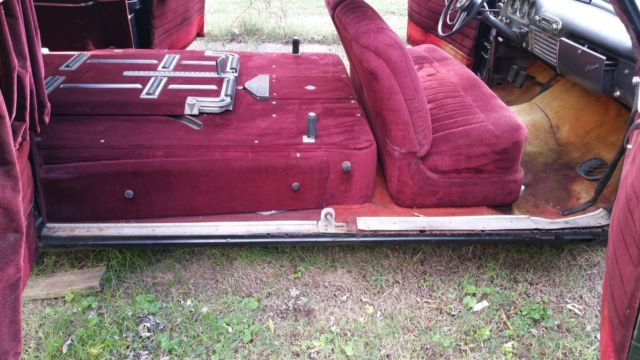 1953 Henney Packard Hearse / Funeral / Ambulance / Classic