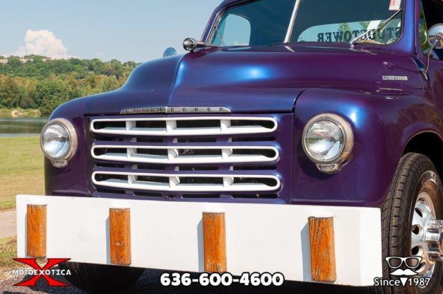 1953 Studebaker 1 ½-ton Tow Truck Restomod - Classic 1953