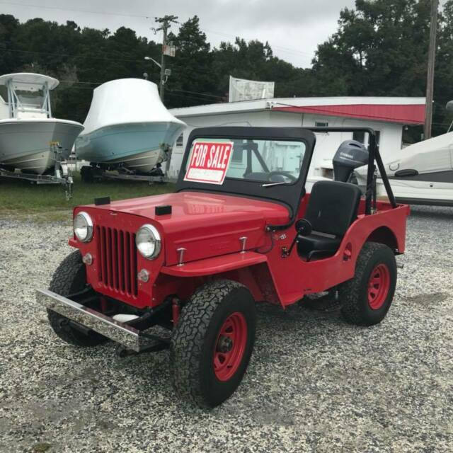 1953 Willys Jeep CJ3B 350 Chevy 4x4 Warn Overdrive - Classic