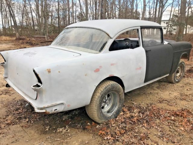 1955 Chevy Gasser project roller 9 inch i beam nj - Classic
