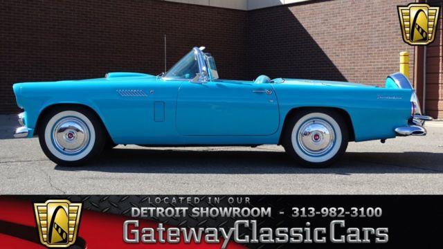 1956 ford thunderbird 0 peacock blue convertible 292 cid v8 3 speed rh mfpclassiccars com 1957 Ford Thunderbird 1956 ford thunderbird repair manual