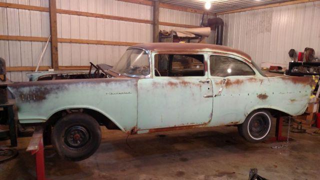 1957 Chevy 150 Rat Rod Patina Field Find Restoration