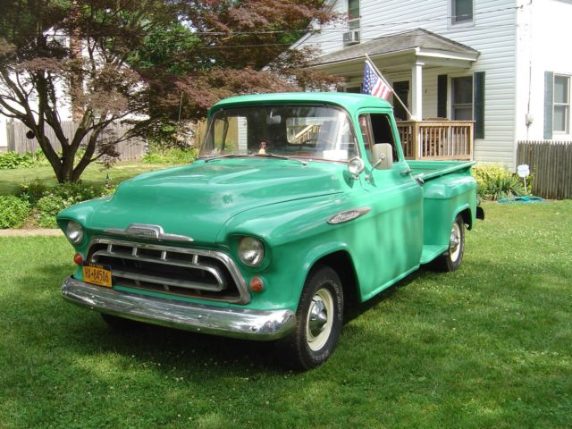 1957 chevy pickup 3200 classic 1957 chevrolet c k pickup 2500 for sale. Black Bedroom Furniture Sets. Home Design Ideas