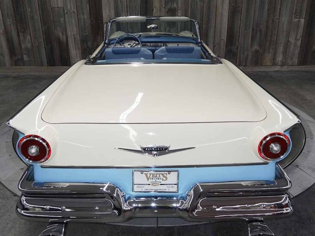 1957 Ford Skyliner Robins Egg Blue 8 Cyl Automatic