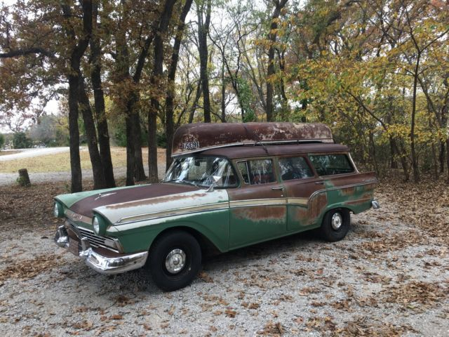 1957 ford station wagon country sedan - Classic 1957 Ford