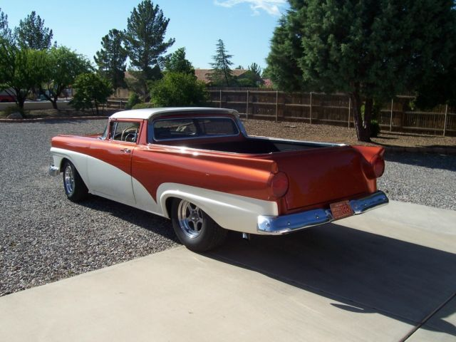 1958 Base Model Ford Ranchero with a 1957 Front Clip