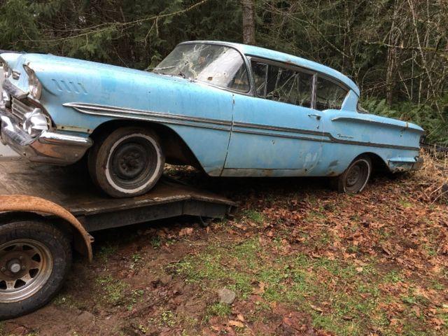 1958 Chevrolet Biscayne Two Door Sedan - Classic 1958