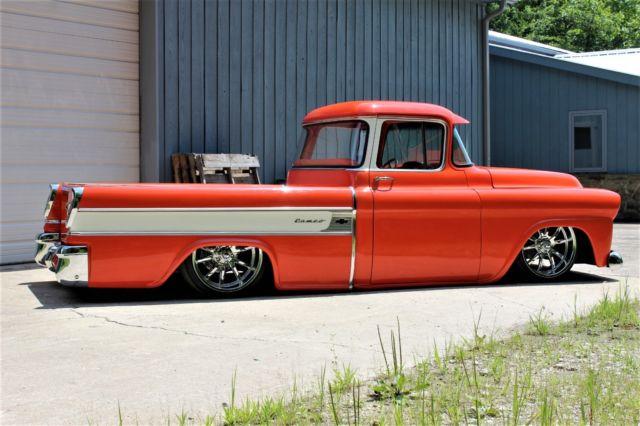 1958 Chevrolet Cameo Restomod Bagged Street Rod Apache