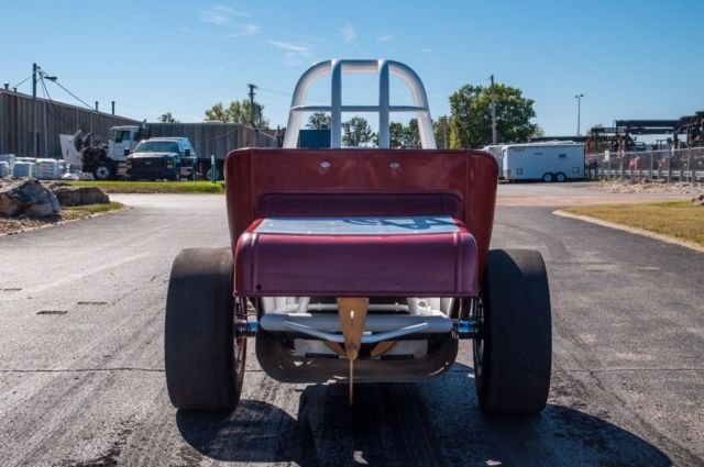1958 Custom Old School Front Engine Dragster with Matching