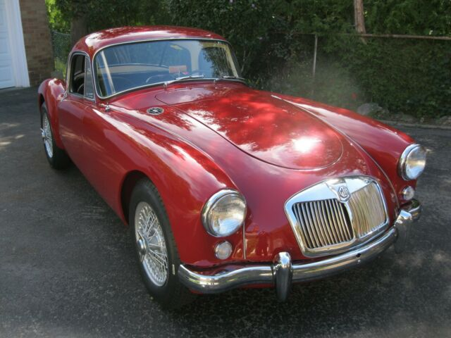 1958 MGA Coupe 1500, Enthusiast Maintained From New,Solid