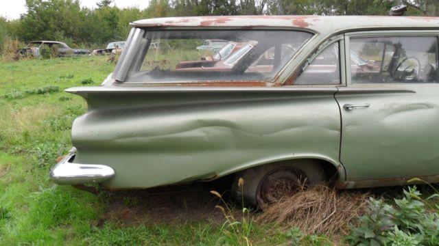 1959 Chevrolet Brookwood Station Wagon Classic 1959