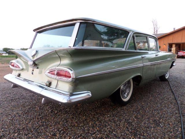 1959 Chevrolet Parkwood Station Wagon 348 Patina Original