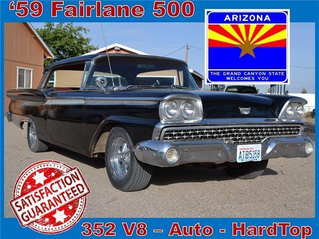 1959 Ford Fairlane 500 Classic Hardtop 352 V8 Automatic