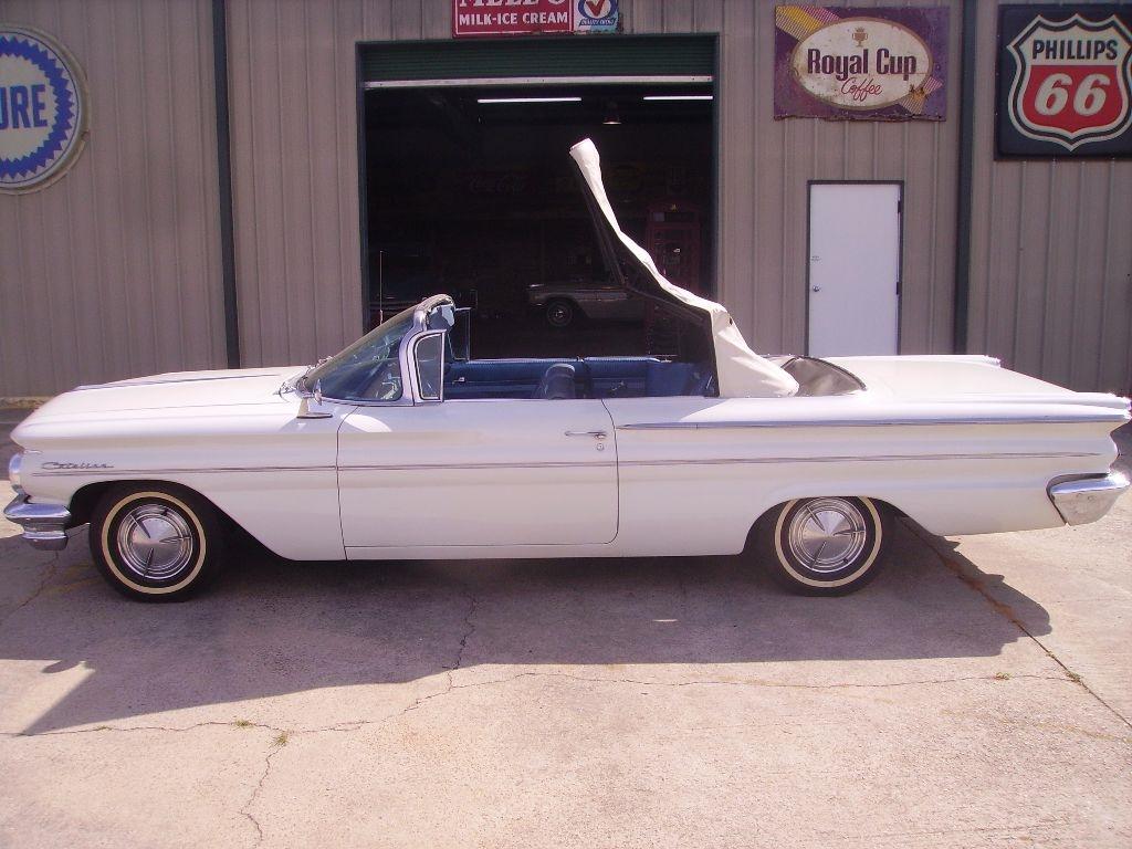 1960 Pontiac Catalina Convertible 389 Engine Automatic Unmolested 2 Door Car Power Top